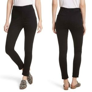 Free People Jeans - Free People High Waist Ankle Pull On Skinny Jeans